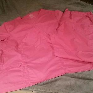 Pink uniform